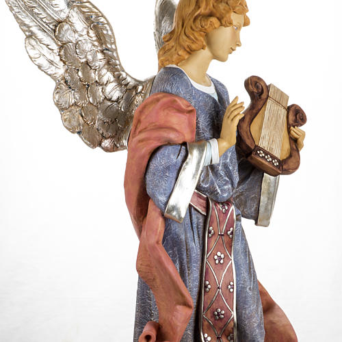 Ange debout crèche Fontanini 125 cm résine 8