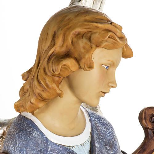 Ange debout crèche Fontanini 125 cm résine 9