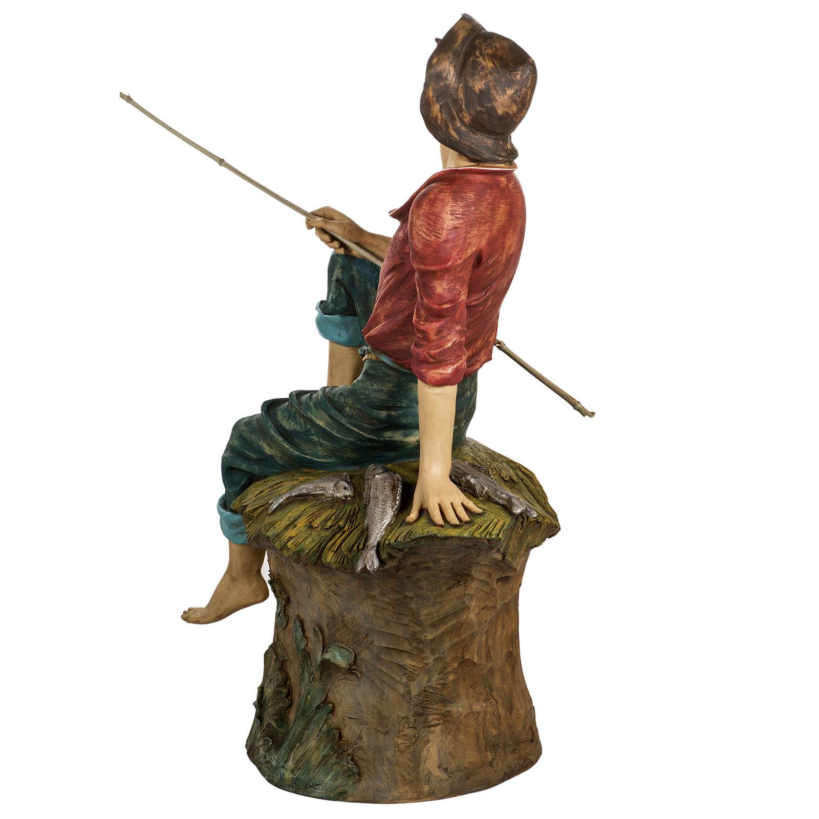 Pescador 125 cm. pesebre Fontanini 3