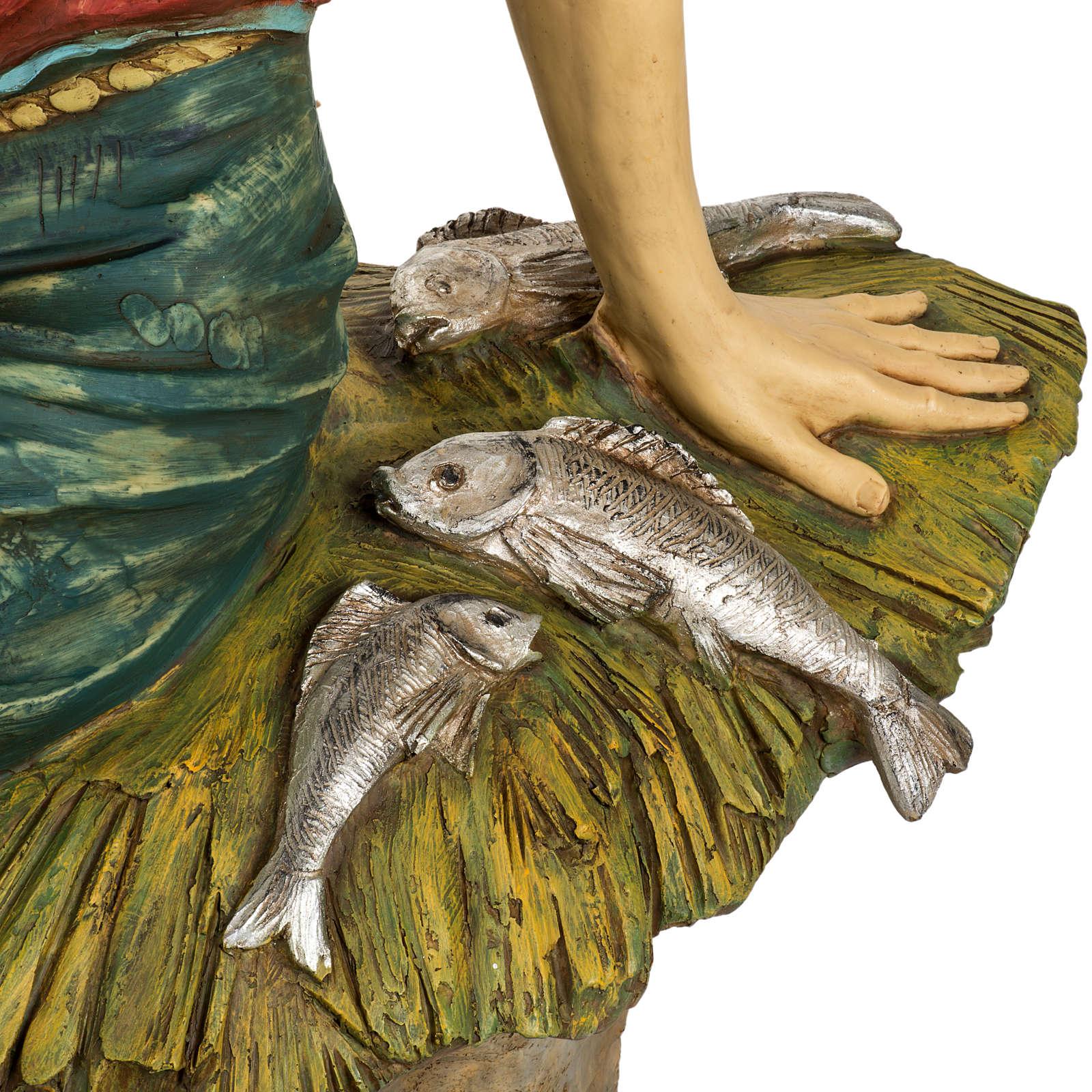 Pescatore 125 cm presepe Fontanini 3