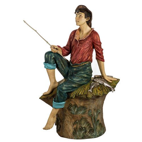 Pescatore 125 cm presepe Fontanini 1