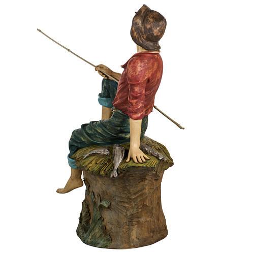 Pescatore 125 cm presepe Fontanini 4