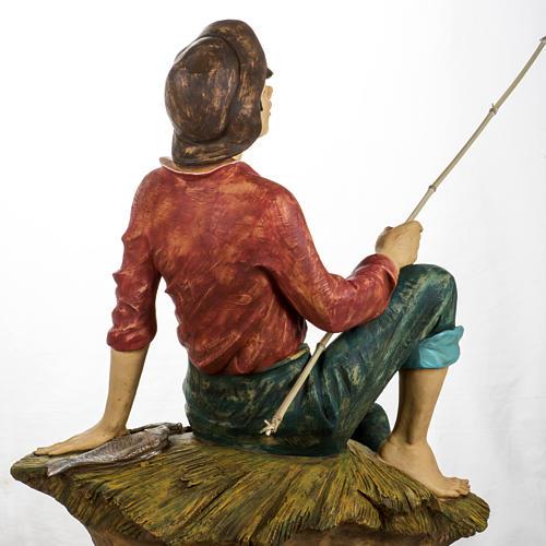 Pescatore 125 cm presepe Fontanini 5