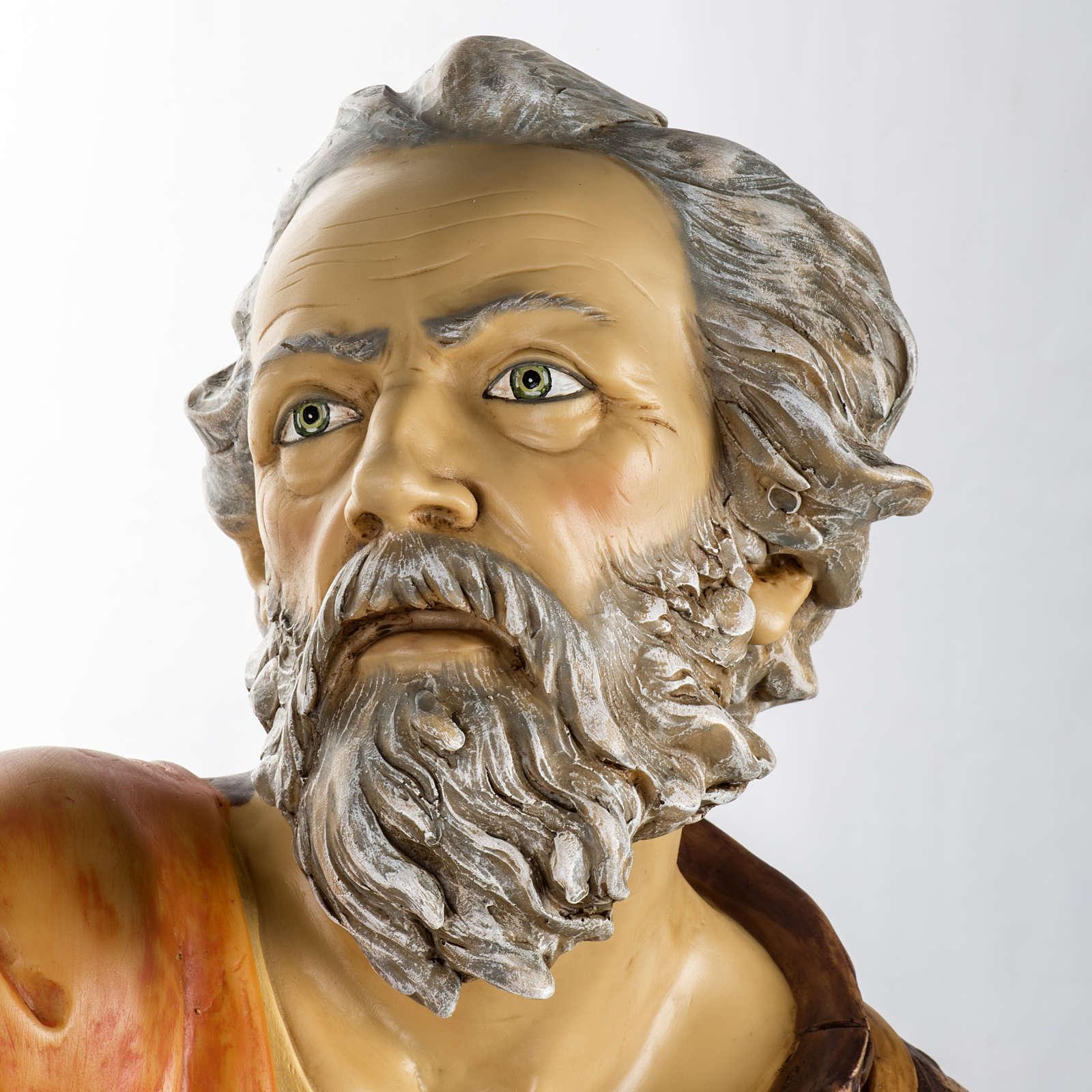 Pastore con lanterna 125 cm presepe Fontanini 3