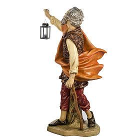 Pastore con lanterna 125 cm presepe Fontanini s8