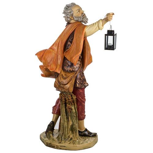 Pastore con lanterna 125 cm presepe Fontanini 5