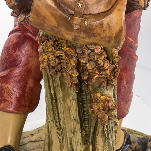 Pastore con lanterna 125 cm presepe Fontanini 6