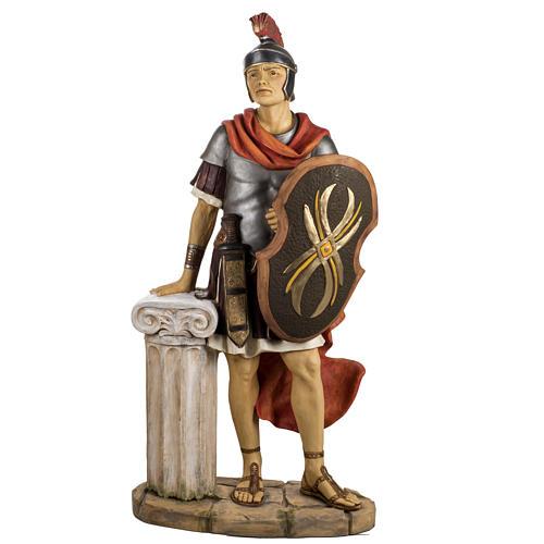 Soldat roman crèche Fontanini 125 cm résine 1