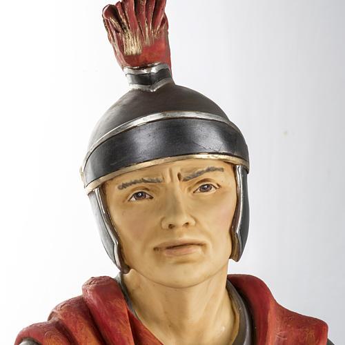 Soldat roman crèche Fontanini 125 cm résine 2