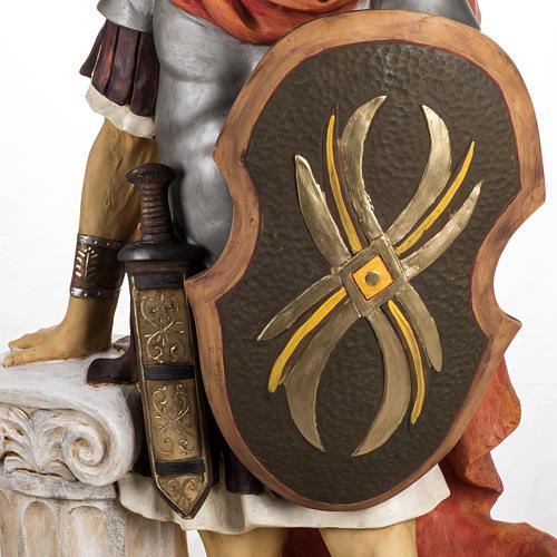 Soldat roman crèche Fontanini 125 cm résine 4