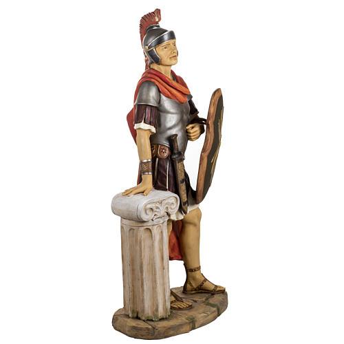 Soldat roman crèche Fontanini 125 cm résine 6
