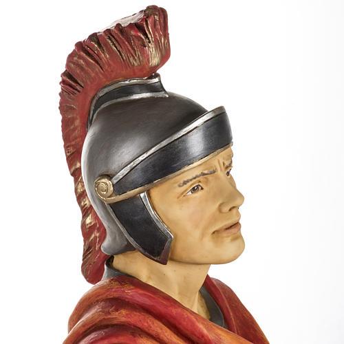 Soldat roman crèche Fontanini 125 cm résine 7