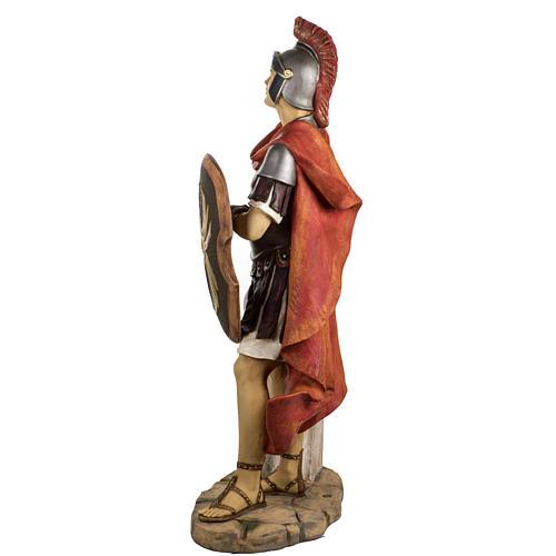 Soldat roman crèche Fontanini 125 cm résine 8