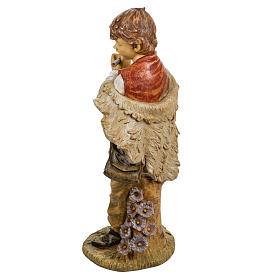 Bambino con flauto 125 cm presepe Fontanini s4