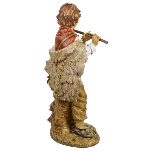 Bambino con flauto 125 cm presepe Fontanini 5