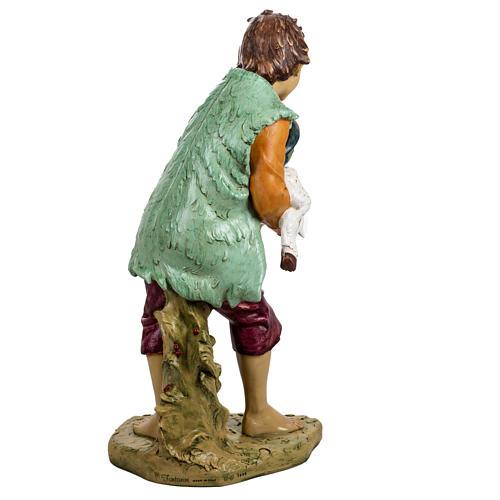 Bambino con agnello 125 cm resina Fontanini 6