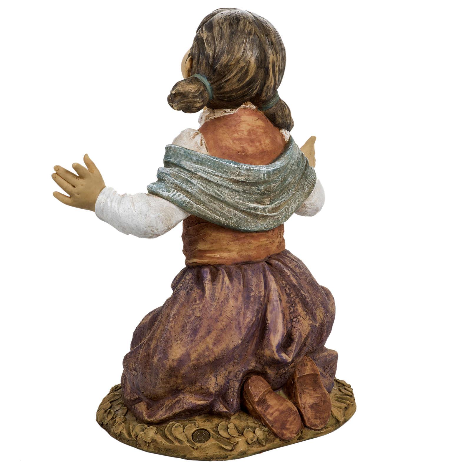 Bambina in ginocchio 125 cm Fontanini 3