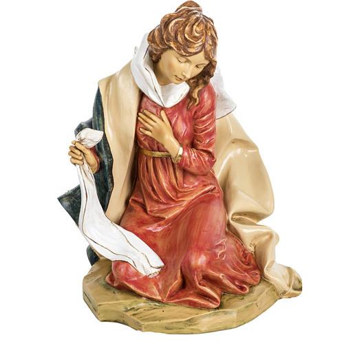 Vierge Marie crèche Fontanini 85 cm résine 1