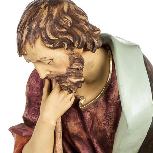 Saint Joseph crèche Fontanini 85 cm résine 2