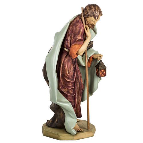 Saint Joseph crèche Fontanini 85 cm résine 4