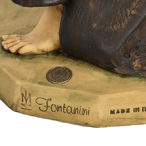 Saint Joseph crèche Fontanini 85 cm résine 7