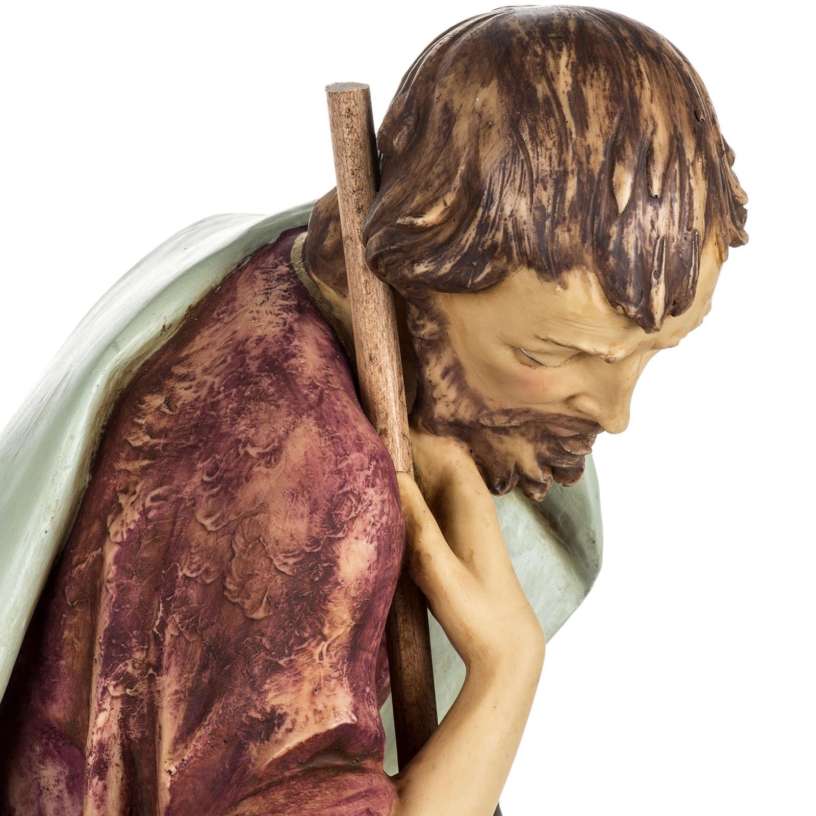 San Giuseppe presepe 85 cm Fontanini 3