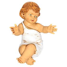 Niño Jesús Fontanini 85 cm. cuna madera s2