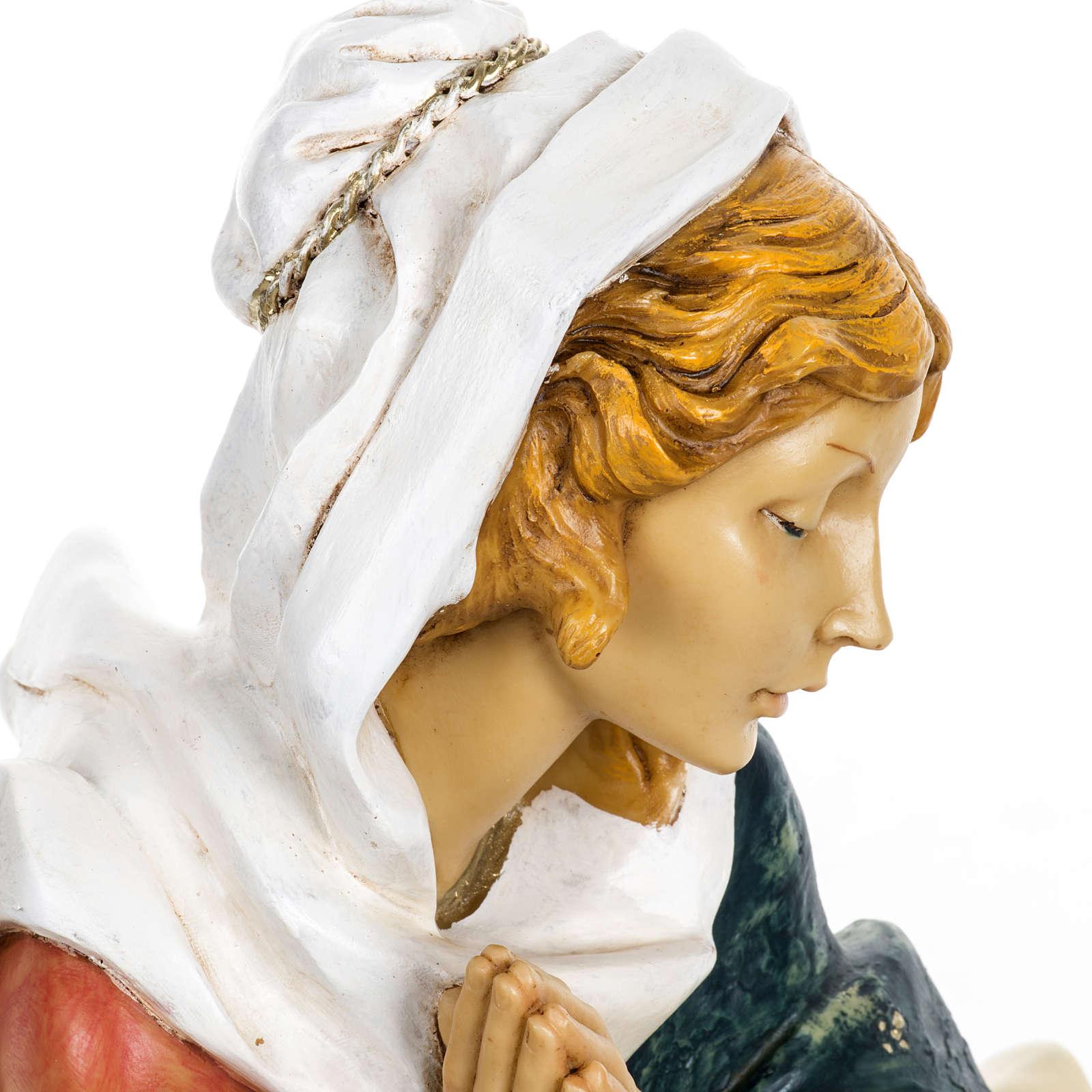 Vierge Marie crèche Fontanini 65 cm résine 3