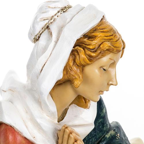 Vierge Marie crèche Fontanini 65 cm résine 6