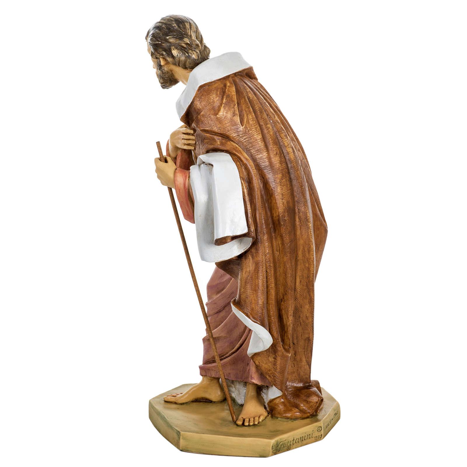 San Giuseppe presepe 65 cm Fontanini resina 4