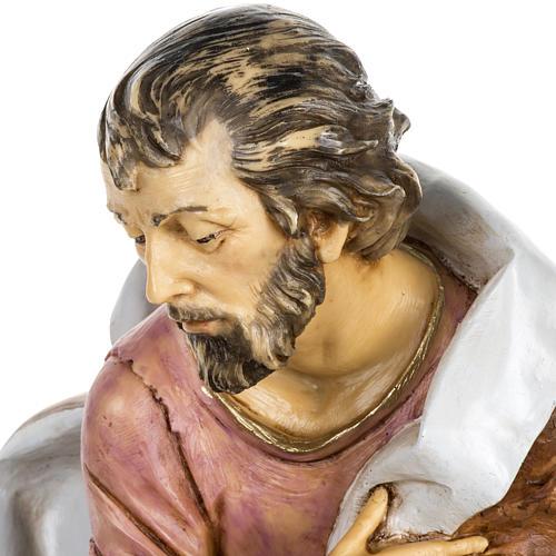 San Giuseppe presepe 65 cm Fontanini resina 3
