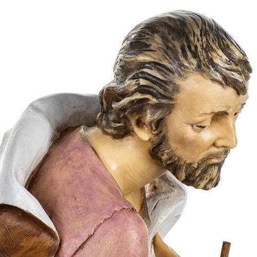 San Giuseppe presepe 65 cm Fontanini resina 6