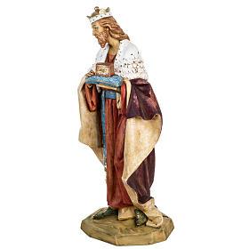 Król Mędrzec biały 65 cm Fontanini żywica s4
