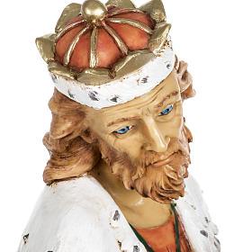 Król Mędrzec biały 65 cm Fontanini żywica s7