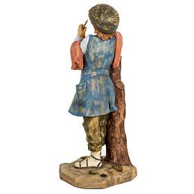Pifferaio presepe 65 cm Fontanini resina s4