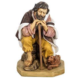 Pastor com cão 65 cm presépio Fontanini s1