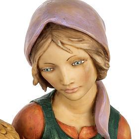 Kobieta z dzieckiem 65 cm Fontanini żywica s3