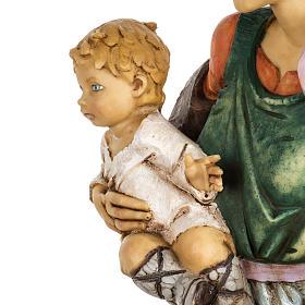 Kobieta z dzieckiem 65 cm Fontanini żywica s5