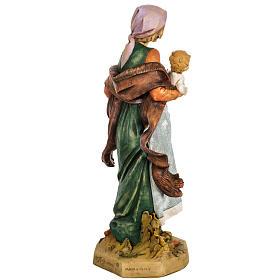 Kobieta z dzieckiem 65 cm Fontanini żywica s6