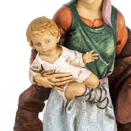 Kobieta z dzieckiem 65 cm Fontanini żywica 2