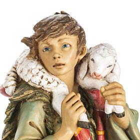 Pasterz z owcami 65 cm Fontanini żywica s2