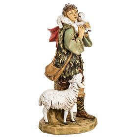 Pasterz z owcami 65 cm Fontanini żywica s4