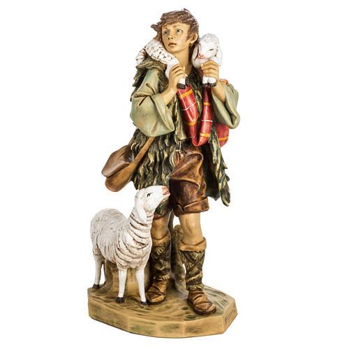 Pasterz z owcami 65 cm Fontanini żywica 1