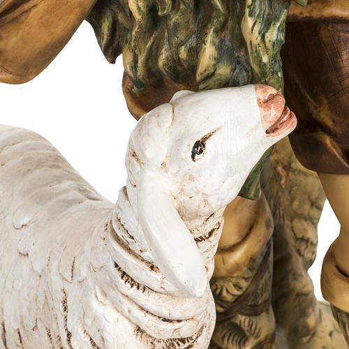 Pasterz z owcami 65 cm Fontanini żywica 3