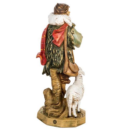 Pasterz z owcami 65 cm Fontanini żywica 6