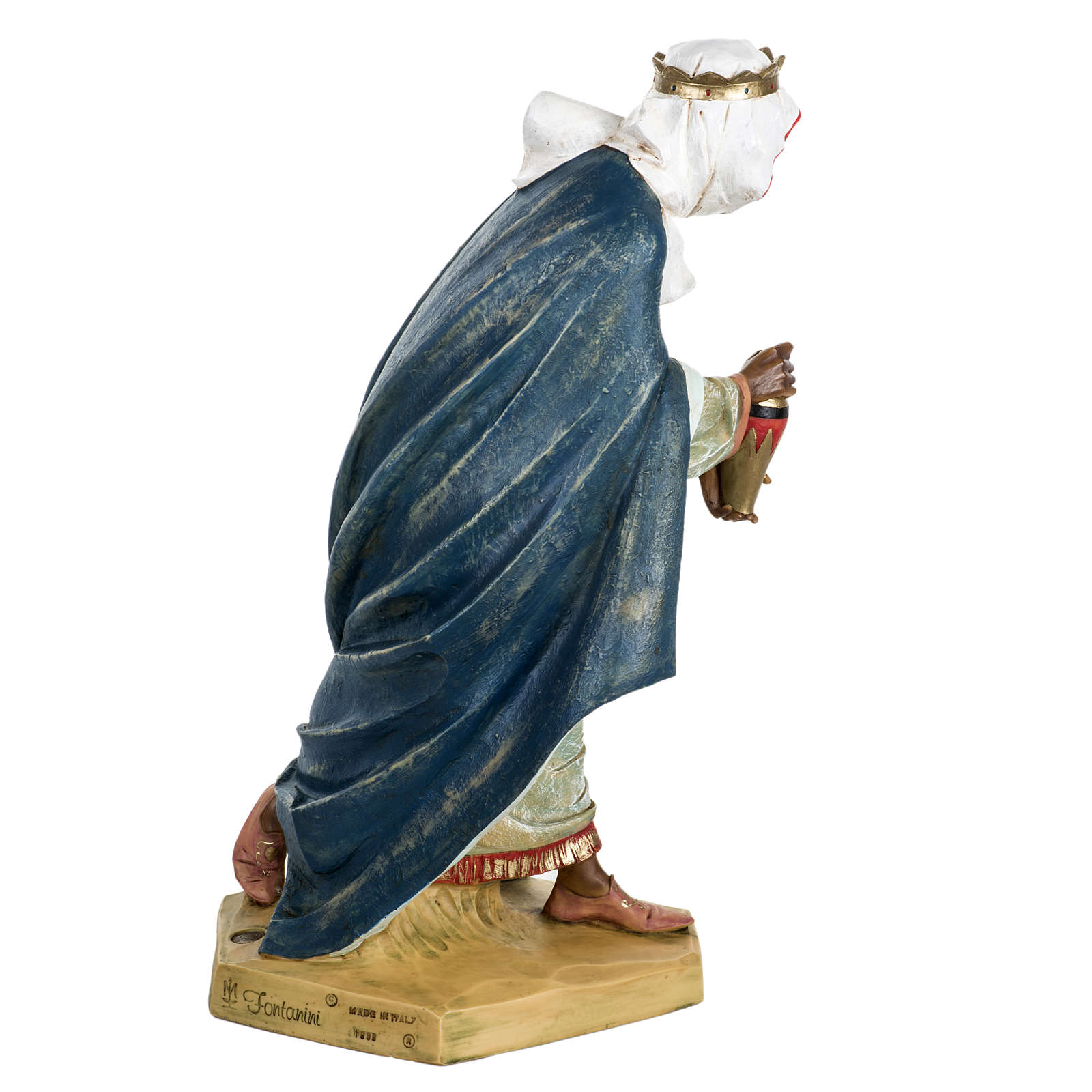 Roi Mage maure crèche Fontanini 65 cm résine 4