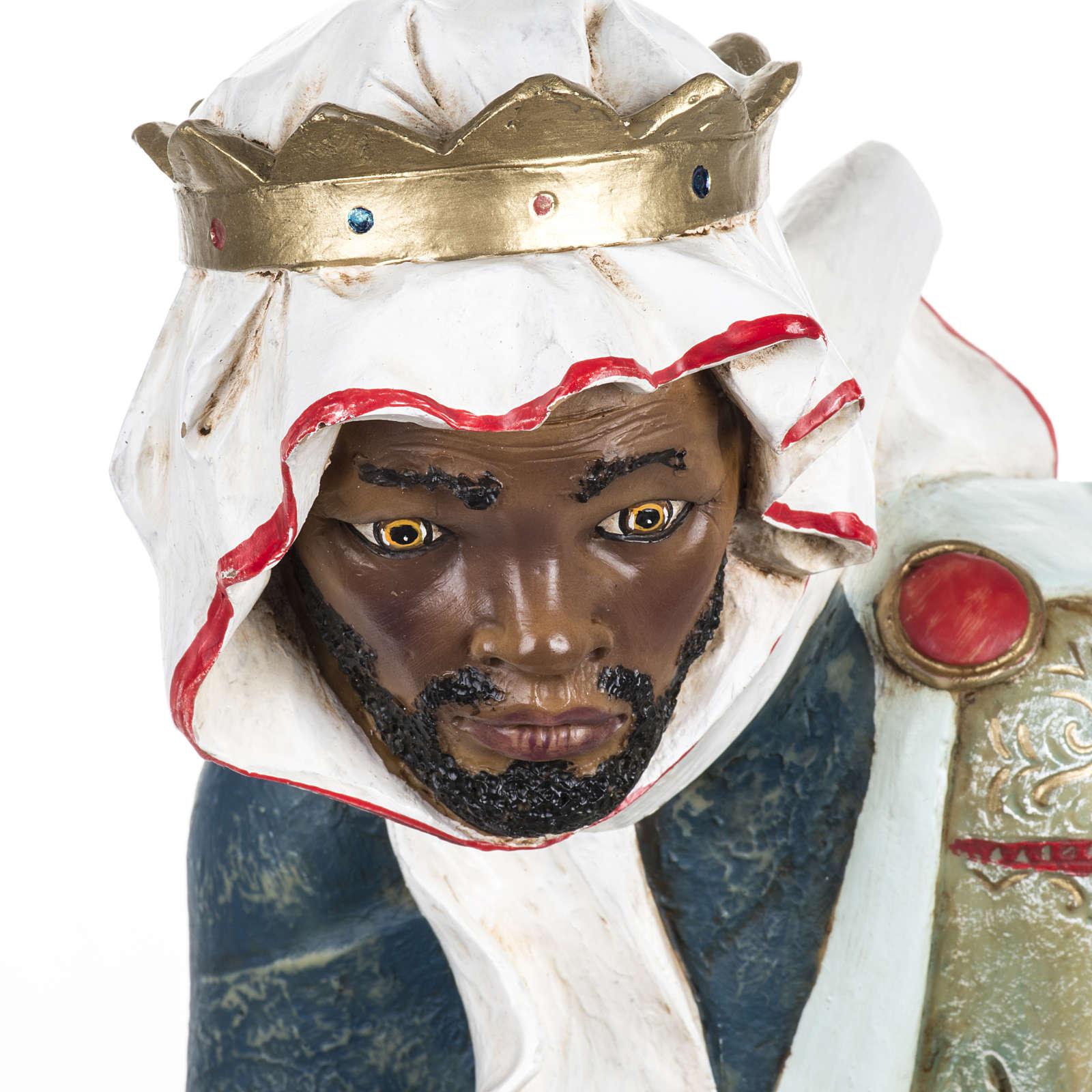 Król Mędrzec śniady 65 cm Fontanini żywica 4