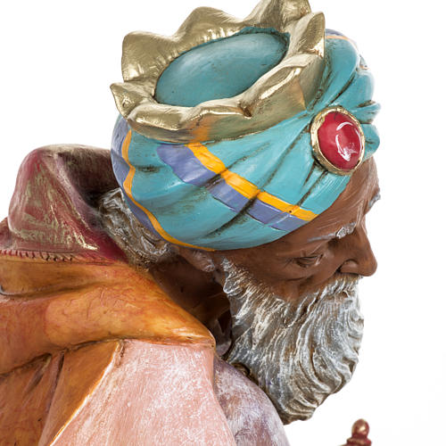 Rey Mago mulato 65 cm. resina Fontanini 8