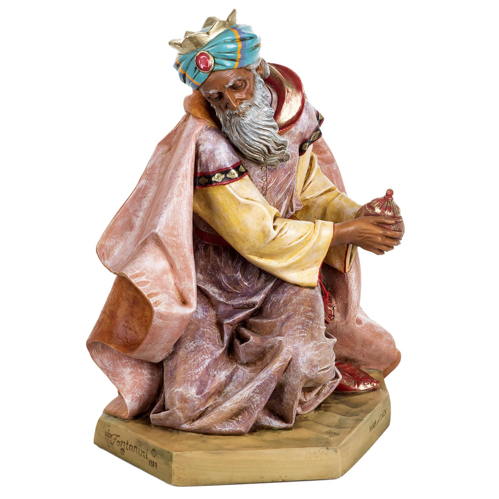 Król Mędrzec mulat 65 cm Fontanini szopka 4