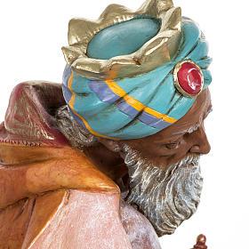 Król Mędrzec mulat 65 cm Fontanini szopka s8